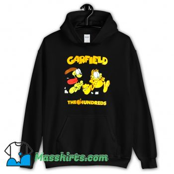 Vintage The Hundreds X Garfield Chase Hoodie Streetwear