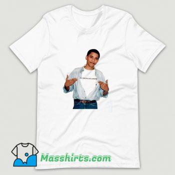 Young President Barack Obama T Shirt Design