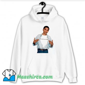 Young President Barack Obama Hoodie Streetwear
