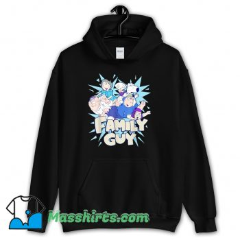 Funny Family Guy Fight Logo Hoodie Streetwear