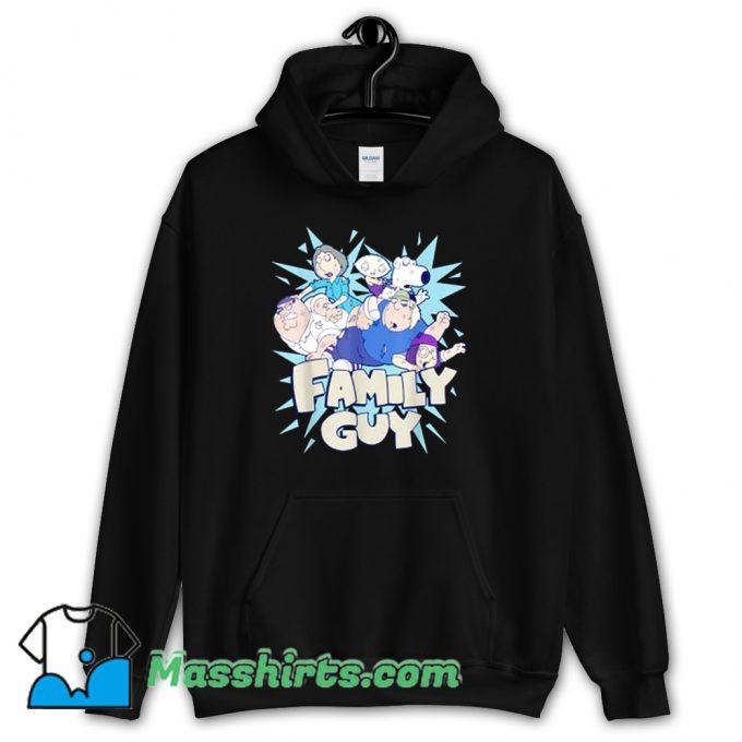 Funny Family Guy Fight Logo Hoodie Streetwear
