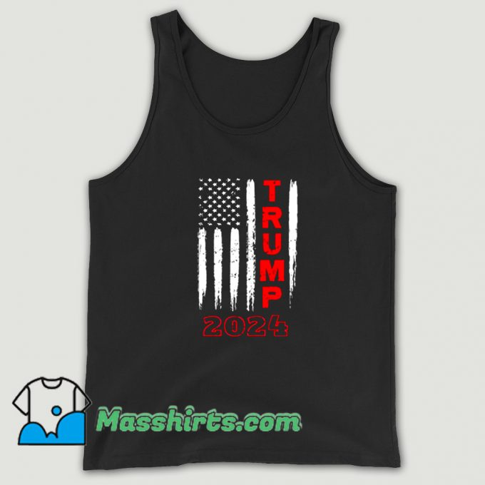 Donald Trump Political 2024 Tank Top