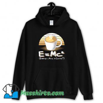 Awesome Energy Milk And Coffee Hoodie Streetwear