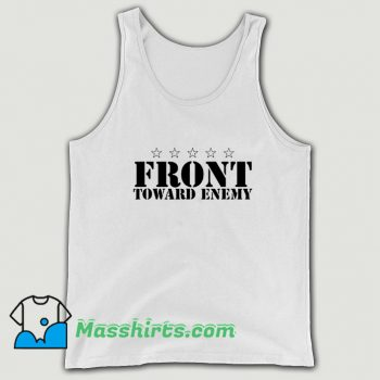 Awesome Front Toward Enemy Tank Top