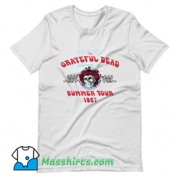 Awesome Grateful Dead Summer Tour 1987 T Shirt Design