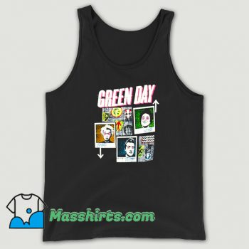 Awesome Green Day 99 Revolutions Tour Tank Top