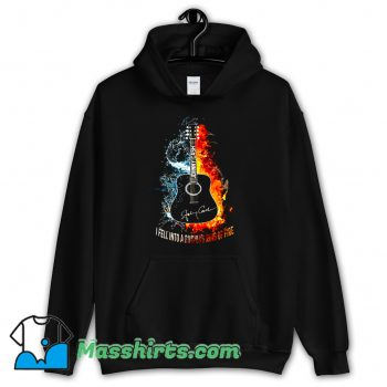 Awesome I Fell Into A Burning Ring Of Fire Hoodie Streetwear