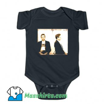 Awesome Johnny Cash Photo Baby Onesie