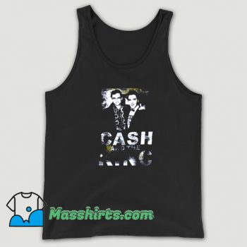 Awesome Johnny Cash X Elvis Cash Tank Top