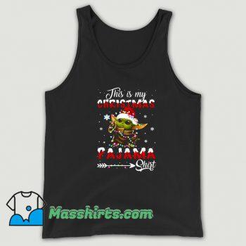 Awesome This Is My Christmas Pajama Tank Top