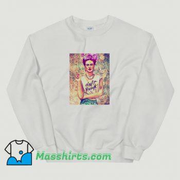 Best Frida Kahlo Daft Punk Sweatshirt