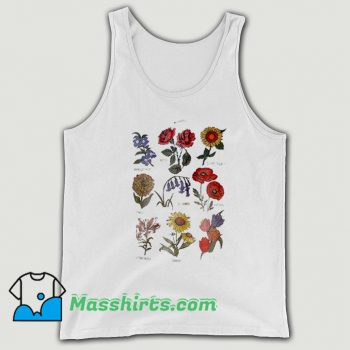 Best Future State Flower Chart Tank Top