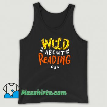 Best Wild About Reading Tank Top