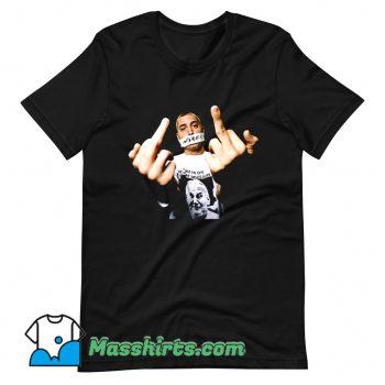 Cheap Eminem Fuck Middle Finger T Shirt Design