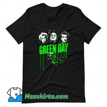 Cheap Green Day American Rock Band T Shirt Design