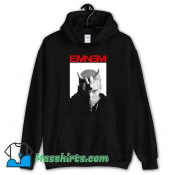 Cheap Rap Eminem Bravado Horns Hoodie Streetwear