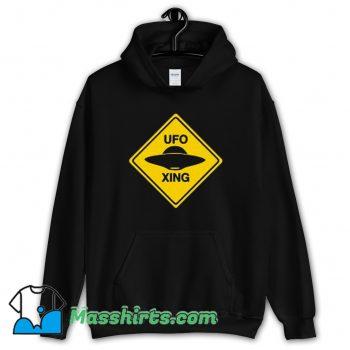 Cheap Ufo Xing Retro 80s Hoodie Streetwear