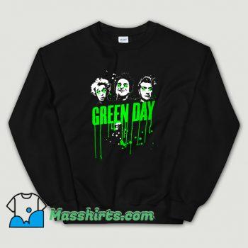 Classic Green Day American Rock Band Sweatshirt