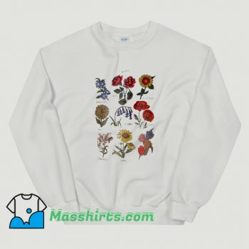 Cool Future State Flower Chart Sweatshirt