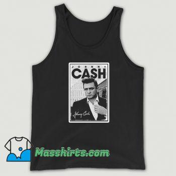 Cool Johnny Cash Signature Tank Top