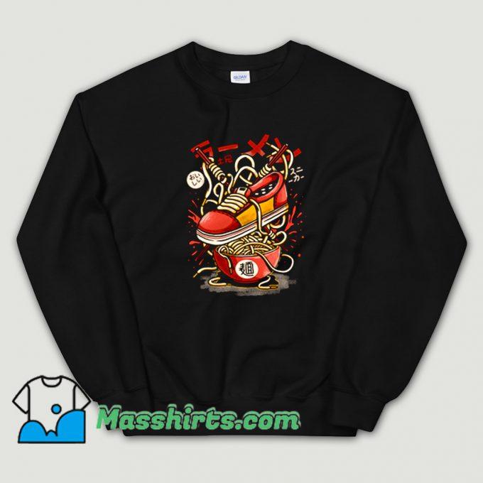 Cool Ramen Sneaker Sweatshirt