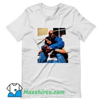 DMX And Aaliyah Rap 90s Hip Hop T Shirt Design