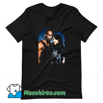 DMX And Aaliyah Tribute T Shirt Design
