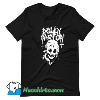 Dolly Parton Black Metal Cool T Shirt Design
