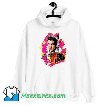 Elvis Presley The King With Guitar Hoodie Streetwear