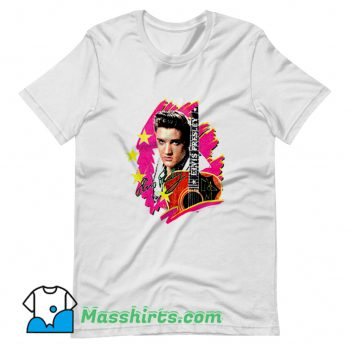 Elvis Presley The King With Guitar T Shirt Design