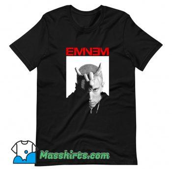 Eminem Bravado Horns Rapper T Shirt Design