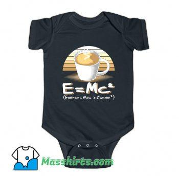 Energy Milk And Coffee Baby Onesie
