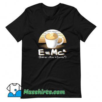 Energy Milk And Coffee T Shirt Design
