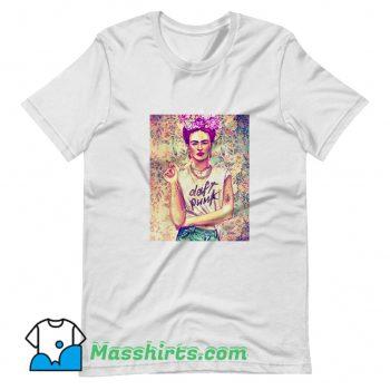 Frida Kahlo Daft Punk Classic T Shirt Design