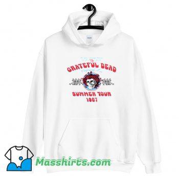 Grateful Dead Summer Tour 1987 Hoodie Streetwear