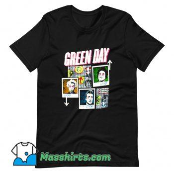 Green Day 99 Revolutions Tour T Shirt Design