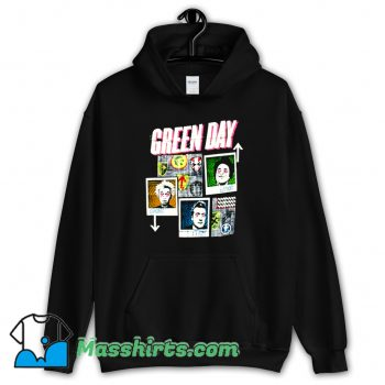 Green Day 99 Revolutions Tour Vintage Hoodie Streetwear
