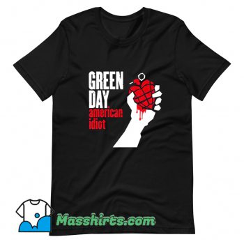 Green Day American Idiot Funny T Shirt Design