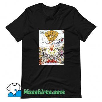 Green Day Band Dopengie T Shirt Design
