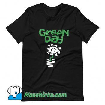 Green Day Flower Pot T Shirt Design