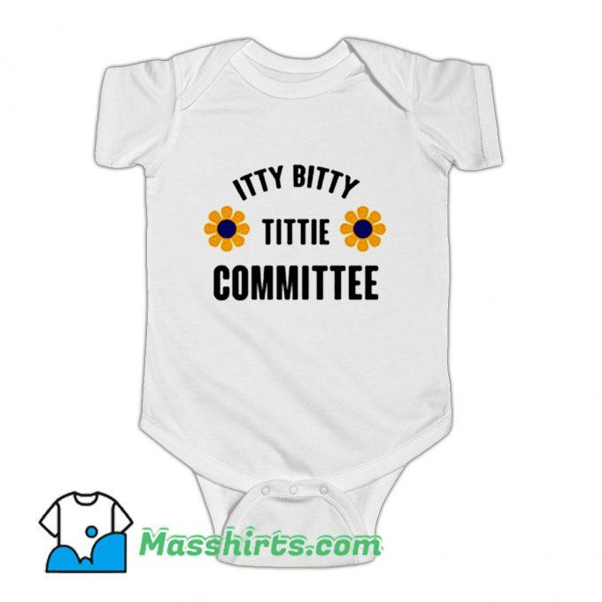 Itty Bitty Titty Committee Baby Onesie