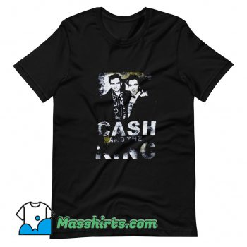 Johnny Cash X Elvis Cash T Shirt Design