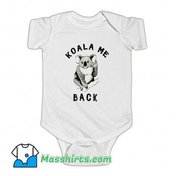 Koala Me Back Morningstar Baby Onesie