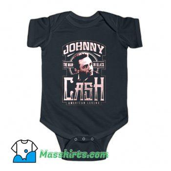 Music Johnny Cash American Legend Baby Onesie