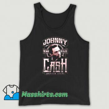 Music Johnny Cash American Legend Tank Top