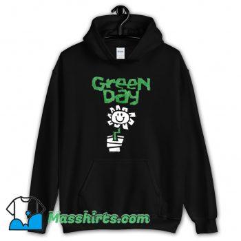 New Green Day Flower Pot Hoodie Streetwear
