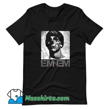 New Slim Shady Skull Eminem T Shirt Design