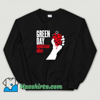 Original Green Day American Idiot Sweatshirt