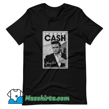 Original Johnny Cash Signature T Shirt Design