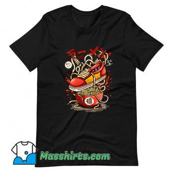Original Ramen Sneaker T Shirt Design